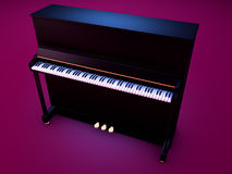 Upright piano stock photos