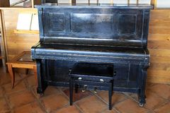Upright piano Royalty Free Stock Image