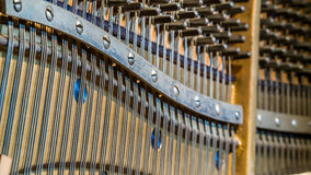 Upright piano Detail Royalty Free Stock Image