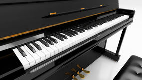 Upright piano Royalty Free Stock Photo