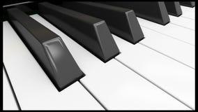 Upright piano stock video