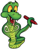 Upright Snake Painter Stock Photos