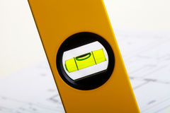 Upright spirit level Stock Photography