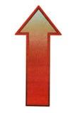 Uprise arrow sign stock photos