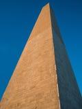 Uprise de Washington Monument Photo stock