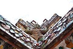 Uprisen sikt på den Arun templet Royaltyfri Bild