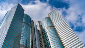 Uprising Angle View Of Residential Building royalty free stock images