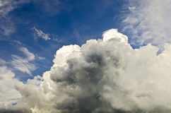 Uprising thunder cloud Stock Photos