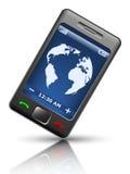 uproszczony smartphone Zdjęcie Stock