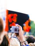 ζωντανό στιγμιότυπο συνα&ups Στοκ Εικόνες