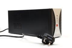 Ups. (power backup device) isolated on white background Stock Photos