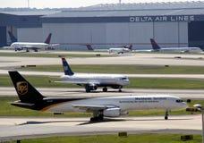 UPS aircraft Royalty Free Stock Photo