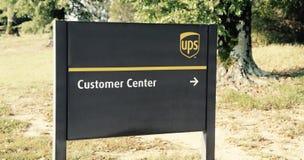 UPS-Kunden-Mitte Stockbilder