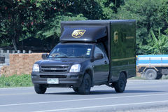 UPS Pickup truck Royalty Free Stock Images
