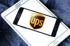 Ups postal shipping company logo Royalty Free Stock Photos