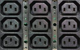 UPS power sockets Royalty Free Stock Image