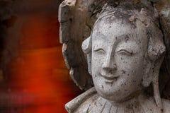 UPS statua twarz statku Chiński balast zdjęcie royalty free