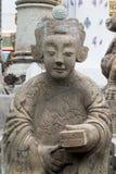 UPS statua twarz statku Chiński balast obrazy royalty free