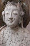 UPS statua twarz statku Chiński balast obraz royalty free
