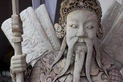 UPS statua twarz statku Chiński balast zdjęcia royalty free