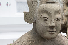 UPS statua twarz statku Chiński balast obrazy stock