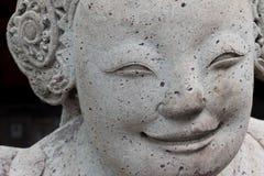 UPS statua twarz statku Chiński balast fotografia royalty free
