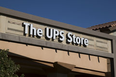 UPS Store Sign Royalty Free Stock Image