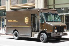 UPS truck Royalty Free Stock Image