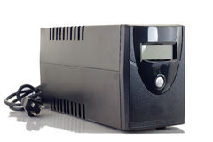 UPS. Uninterruptible Power Supply (UPS) on a white background Royalty Free Stock Images