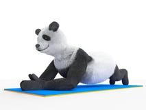 UPS zwierzęcą charakter atlety ilustracją Obraz Stock