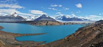 Upsala冰川在阿根廷 库存图片