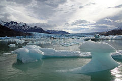 upsala de glacier Photos libres de droits