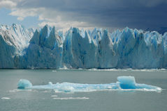 The Upsala glacier in Patagonia, Argentina. Royalty Free Stock Photos