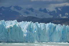 The Upsala glacier in Patagonia, Argentina. Stock Photography