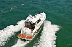 Upscale Cabin Cruiser Royalty Free Stock Photo