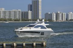 Upscale Cabin Cruiser Royalty Free Stock Photos