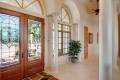 Upscale Door way Stock Photo