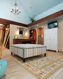 Upscale elegant dressing room Stock Image