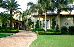 Upscale Home royalty free stock images