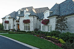 Upscale home. Front of the upscale home Royalty Free Stock Photography