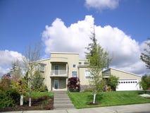 Upscale Home. Executive home stock photo