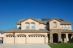 Upscale house Stock Image