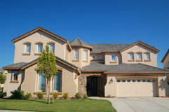 Upscale House in California Royalty Free Stock Photography