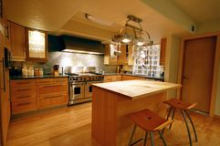 Upscale kitchen Stock Photography