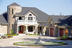 Upscale Luxury Home Stock Photos