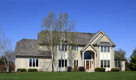 Upscale Luxury Home Royalty Free Stock Photo