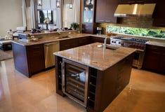 Upscale Modern Kitchen Stock Photos