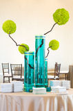 Upscale modern table centerpiece. An image of a upscale modern table centerpiece Stock Photography