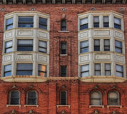 Upscale urban apartment building Royalty Free Stock Photos