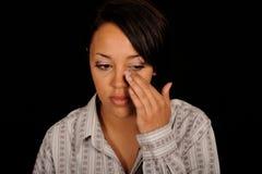 upset женщина Стоковые Фотографии RF